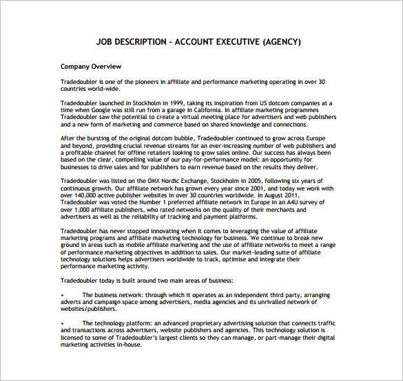 trade marketing job description