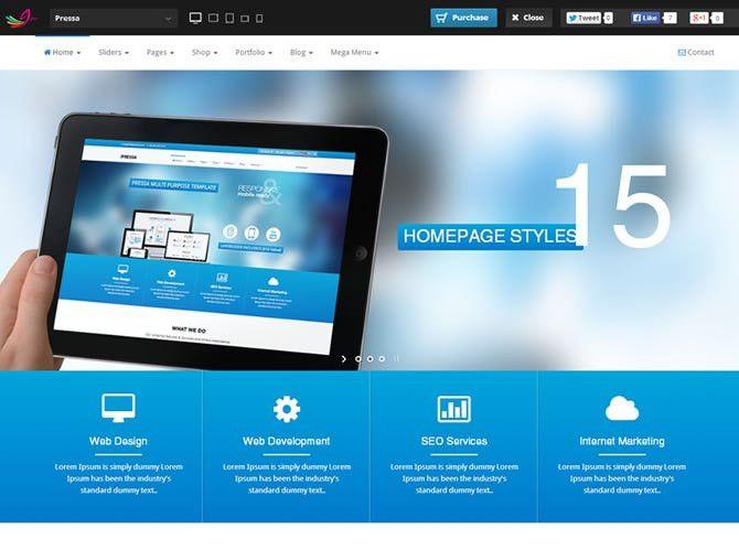Best HTML5 Bootstrap Website Templates | Entheos
