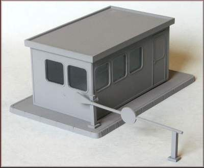 Gatehouse Control Office (Modern with lifting barrier)