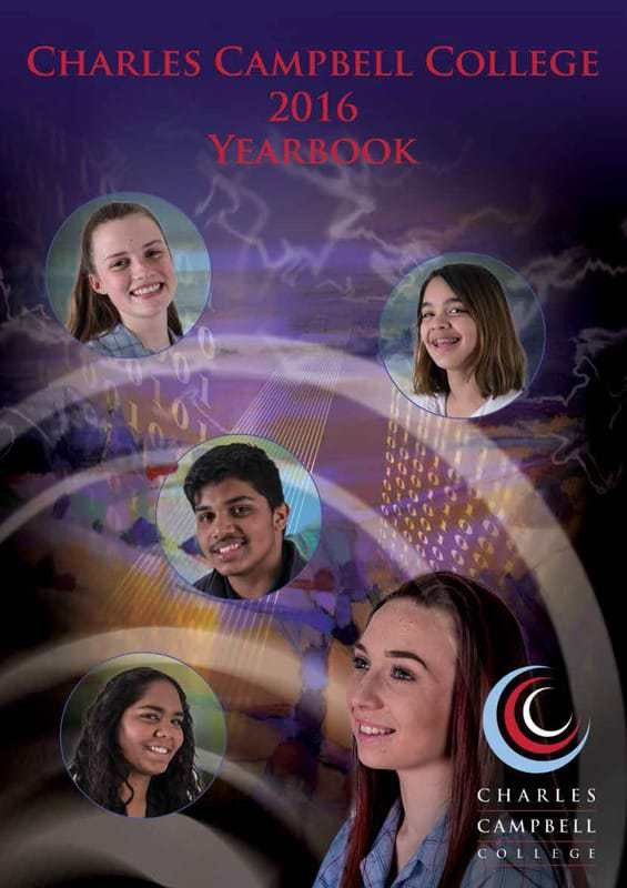 2016 College Yearbook SAMPLE - Charles Campbell College