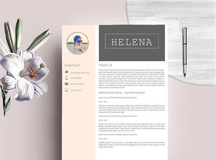 23 best Resume Template + Cover Letter | Professional & Modern ...