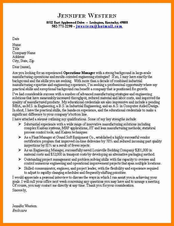 10+ good examples of cover letter | assembly resume