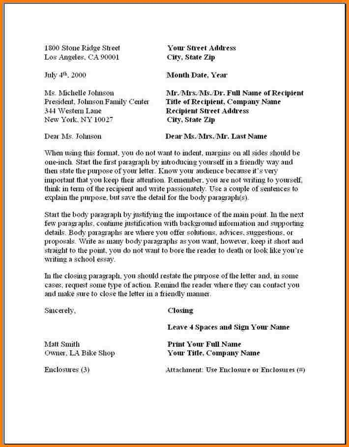 6+ formal business letter template | quote templates