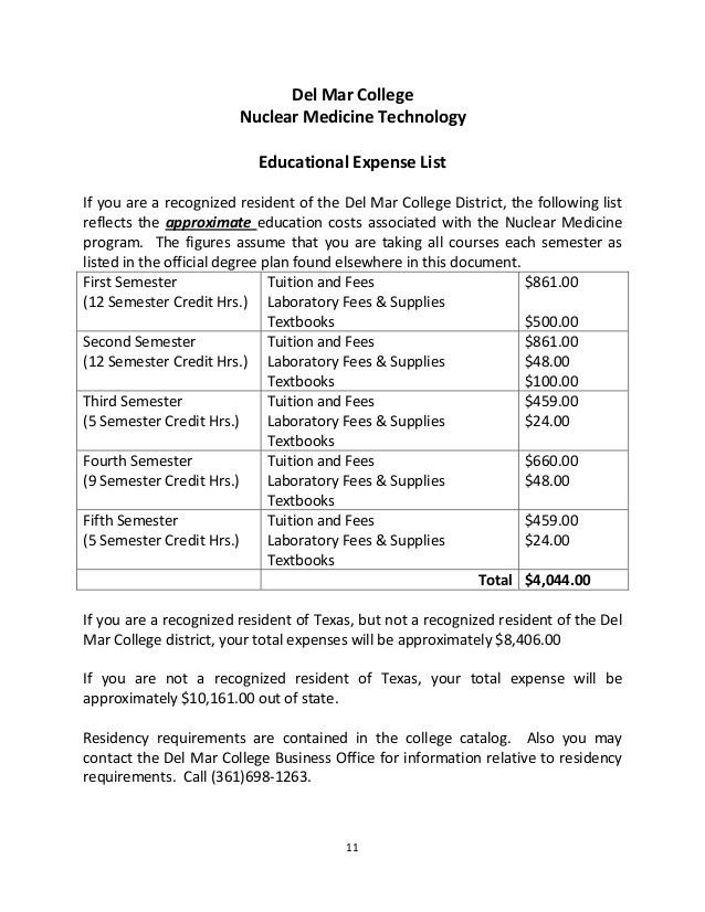 Nuclear Medicine Technology Program