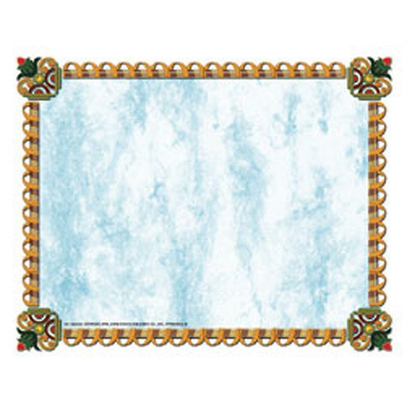 Blue Ribbon Border Paper! Great for creating your own design ...