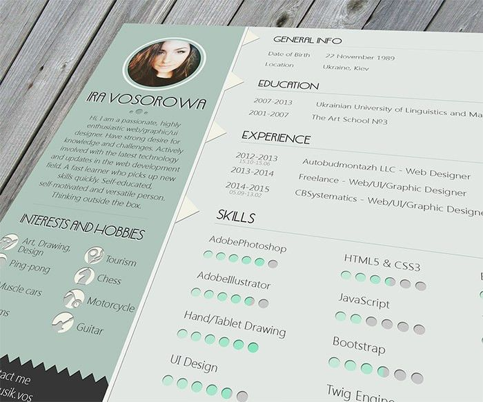 Beautiful Resume Templates. Beautiful Resume Templates Interesting ...