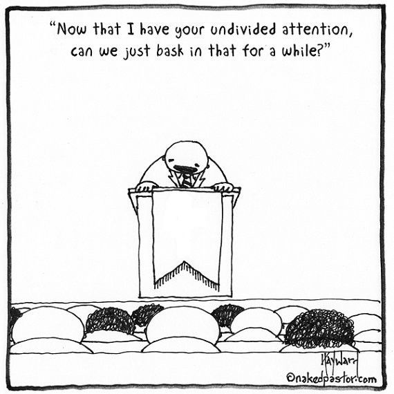 Thanks for your Undivided Attention CARTOON