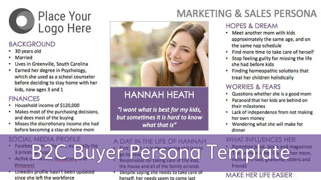 A Step-by-Step Guide For Creating A B2C Buyer Persona