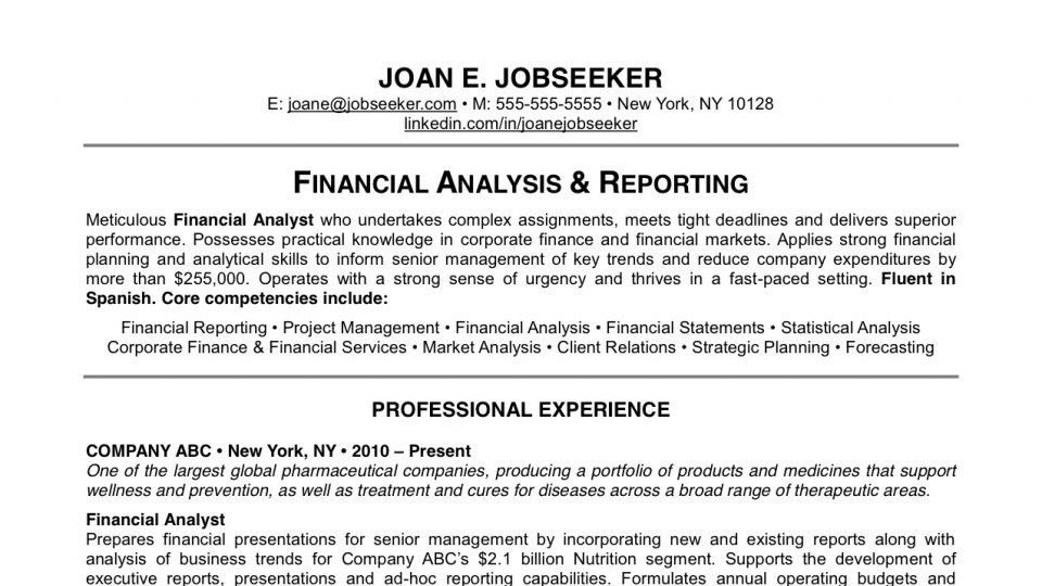 This Model Resume Will Help You Score Your Dream Job | Lifehacker ...