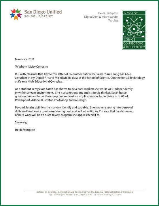 Microsoft Word Reference Letter Template | Cvletter.csat.co