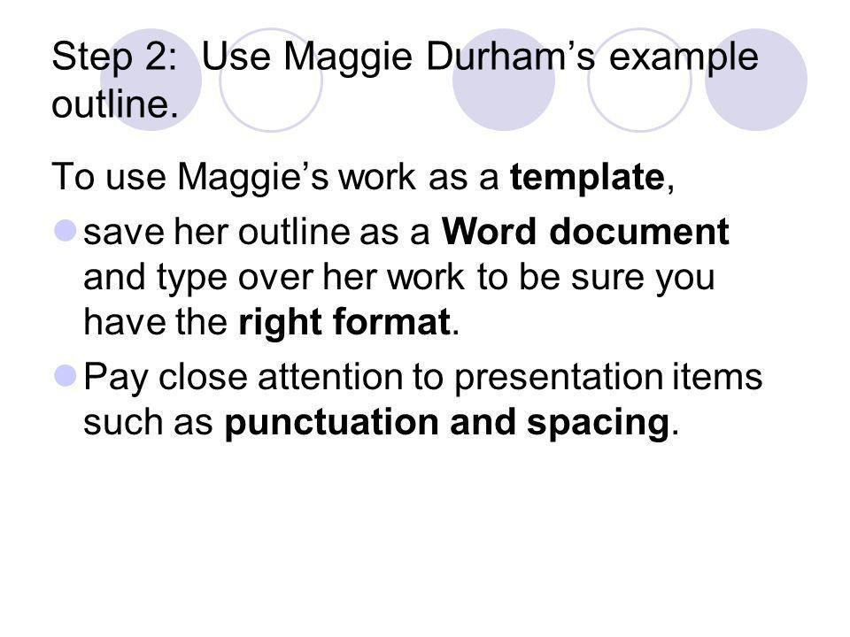 Outline of an Informative Essay - ppt download