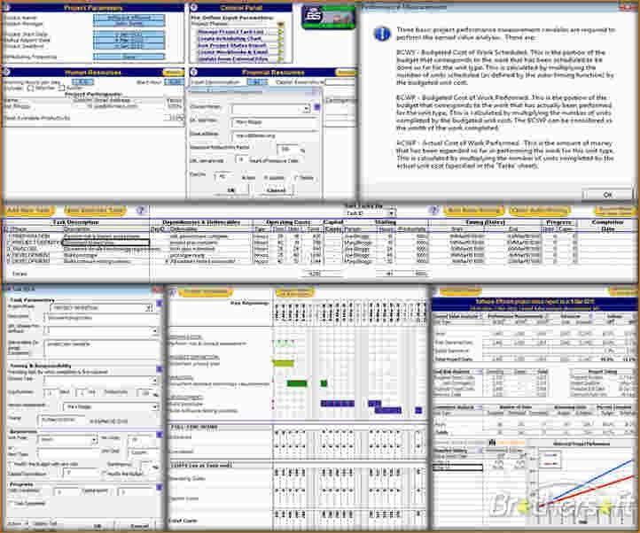 3 excel project management templates | Ganttchart Template