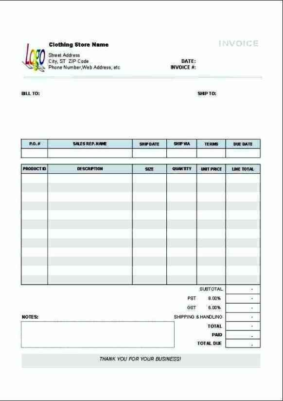 Accounting Service Order Form Template Free | Besttemplates123