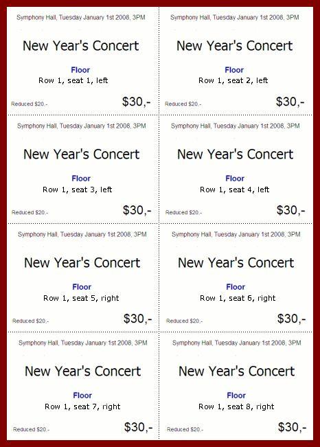 6+ plate sale ticket template | sendletters.info