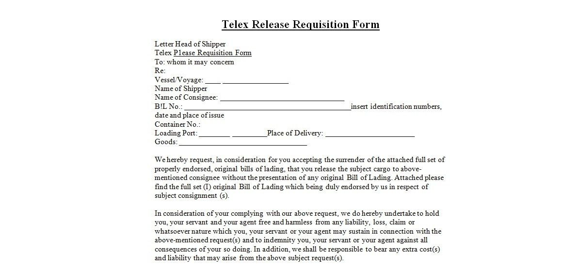 Sample Requisition Form. Supplier Corrective Action Request (Scar ...