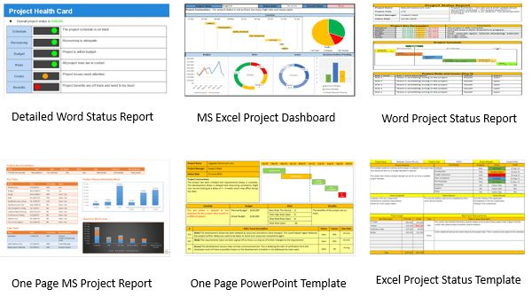 Project Status Report Template Powerpoint | Free Business Template
