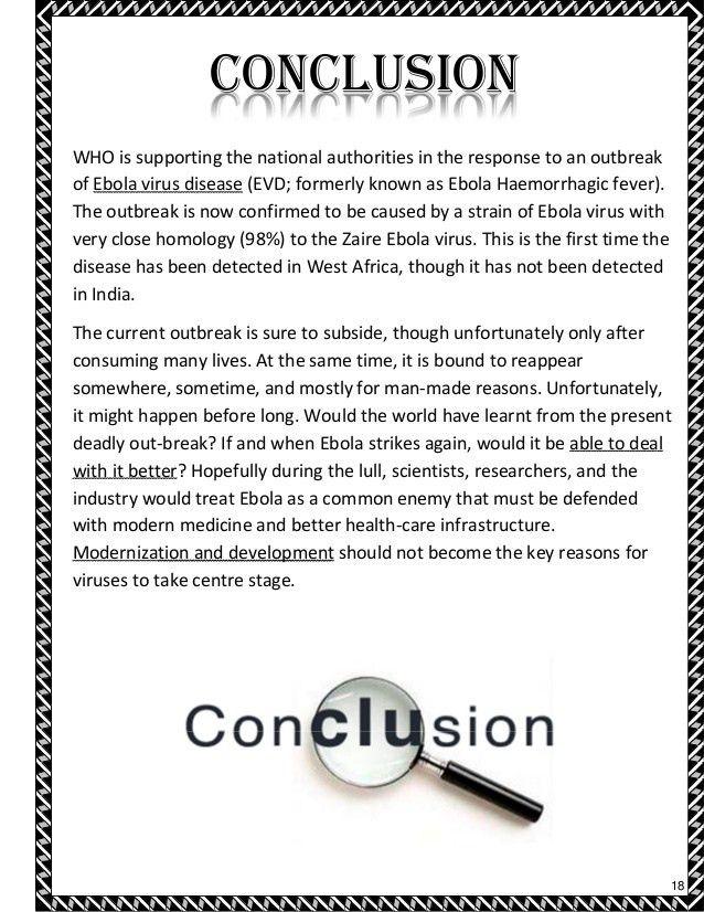 Ebola virus disease [ bio project ]