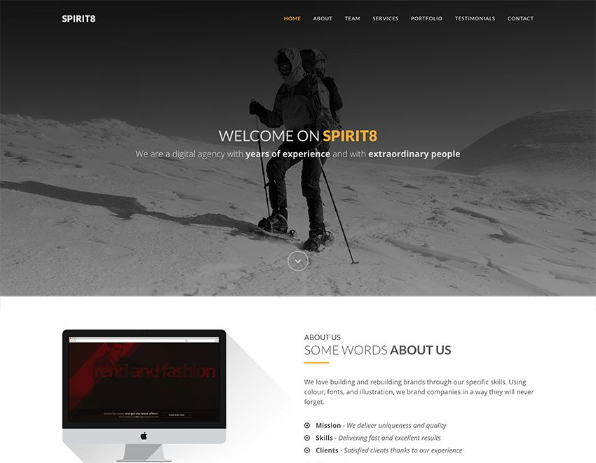 15 Best Free Bootstrap Landing Page Templates | Template ...