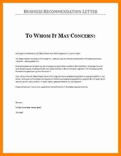 Employee Recommendation Letter Sample. Job Recommendation Letter ...
