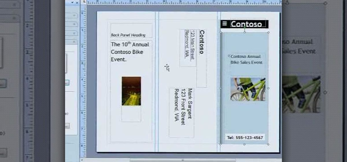 How to Create a brochure with Microsoft Publisher 2007 « Microsoft ...