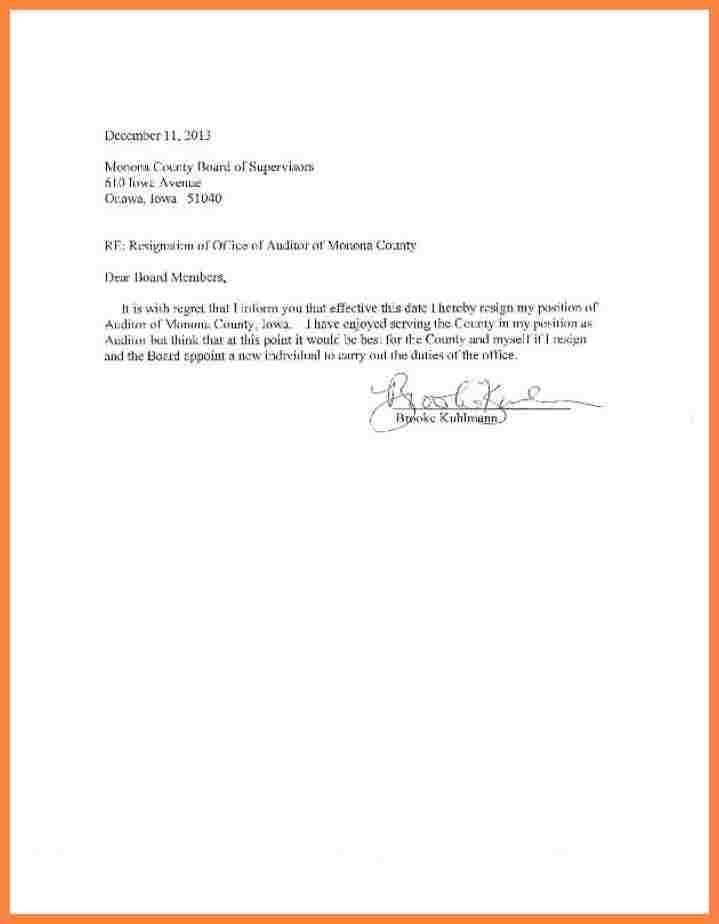 Resignation Letter Examples. Retirement Resignation Letter Example ...