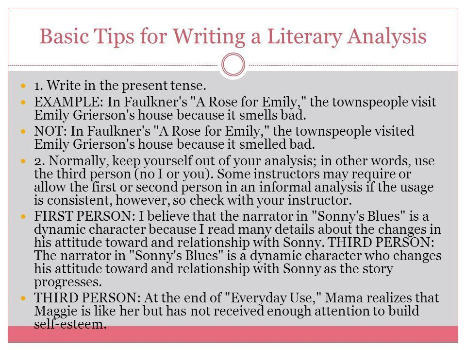 Literary Analysis. - ppt download
