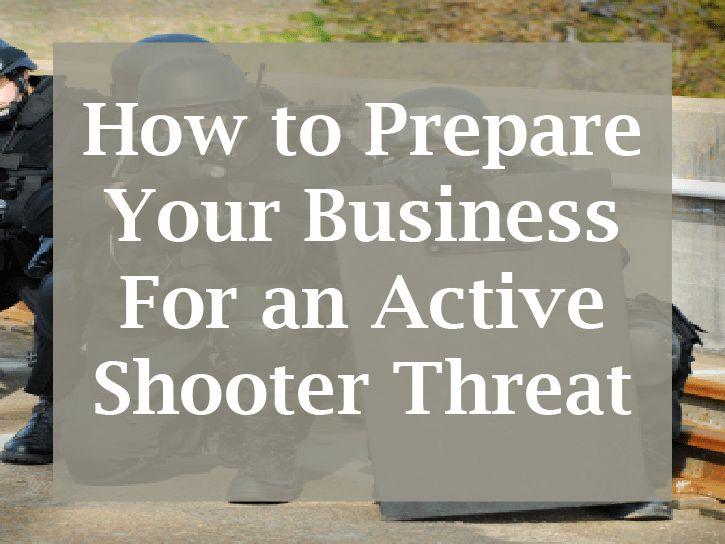 Preparing for an Active Shooter - Preparis