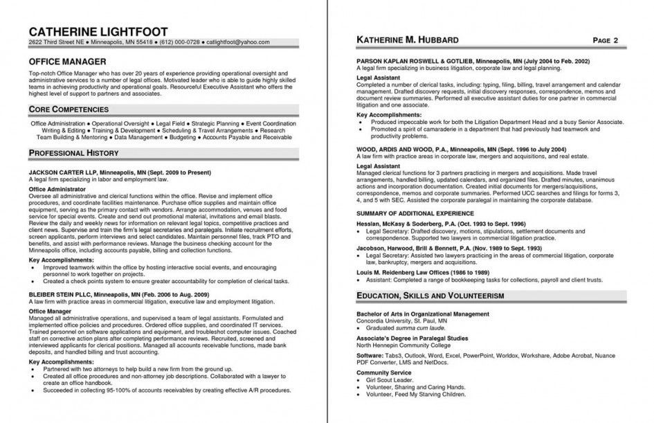 sample core competencies for resume project manager resume sample