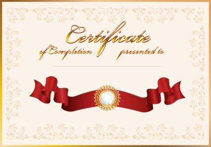 Certificate template for school sports free vector download ...
