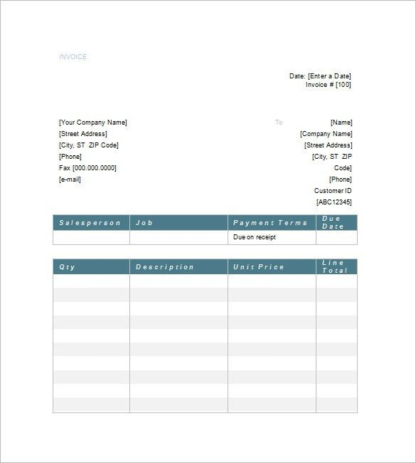 Legal Invoice Template – 8+ Free Sample, Example, Format Download ...