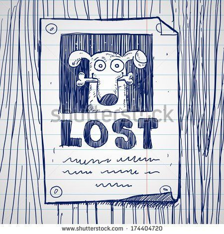 Lost Pet Sign Stock Images, Royalty-Free Images & Vectors ...