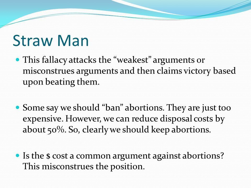 Logical Fallacies Overview Logical fallacies are instances of ...