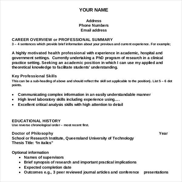 resume writing templates example of resume writing resume examples ...