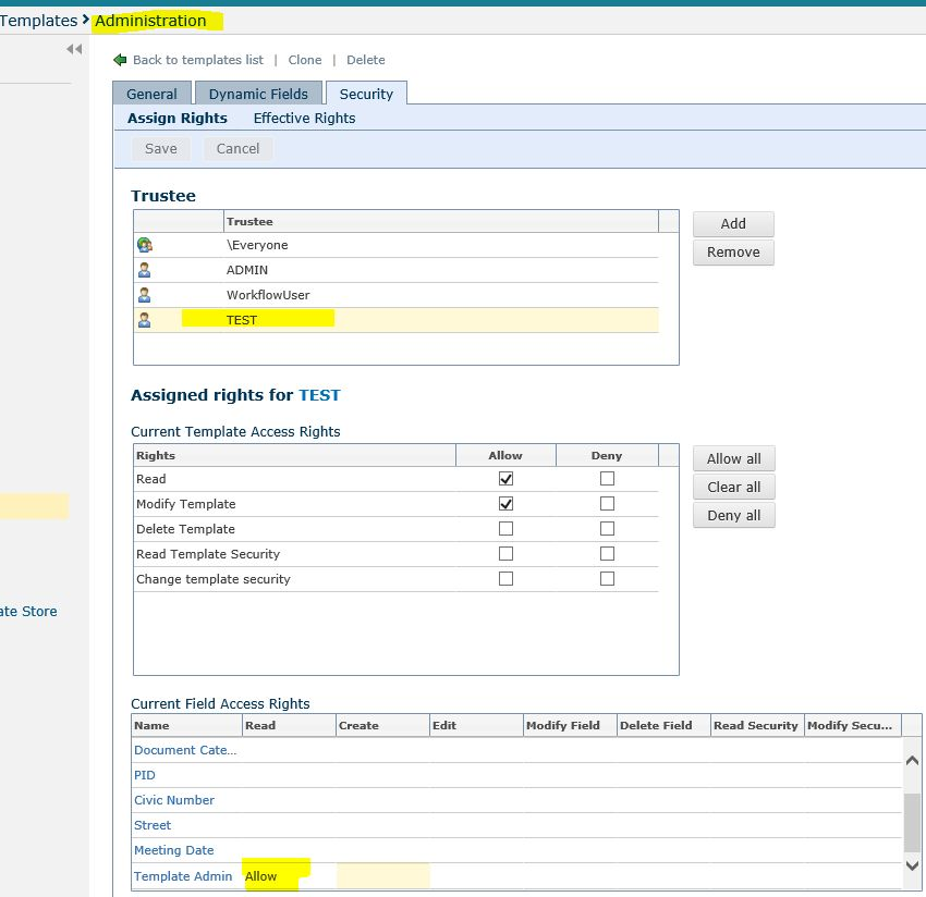 Feature Request: Dynamic field based off of template - Laserfiche ...