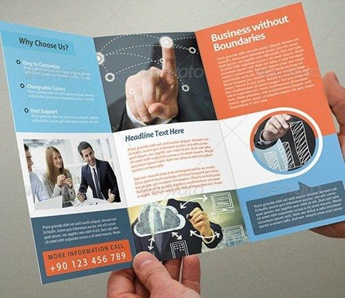 Tri fold brochure template free download. Here are some of best ...