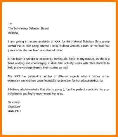 8+ recommendation letter for student scholarship | sample of invoice