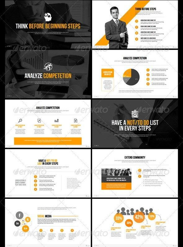 premium business powerpoint templates | ppt | Pinterest | Business ...