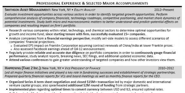 Market Research Resume Example Market Analyst Resume Sample ...