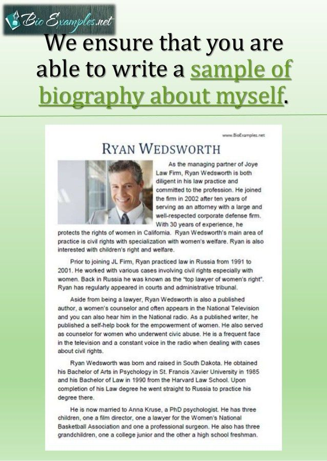 Best Biography Examples for Your Career