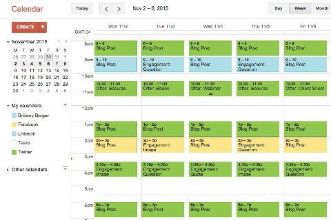4 Tools to Build a Social Media Content Calendar : Social Media ...