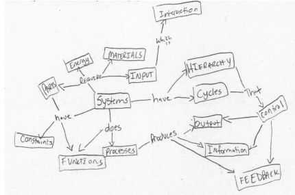 Example concept map for systems thinking task. | Figure 2 of 9