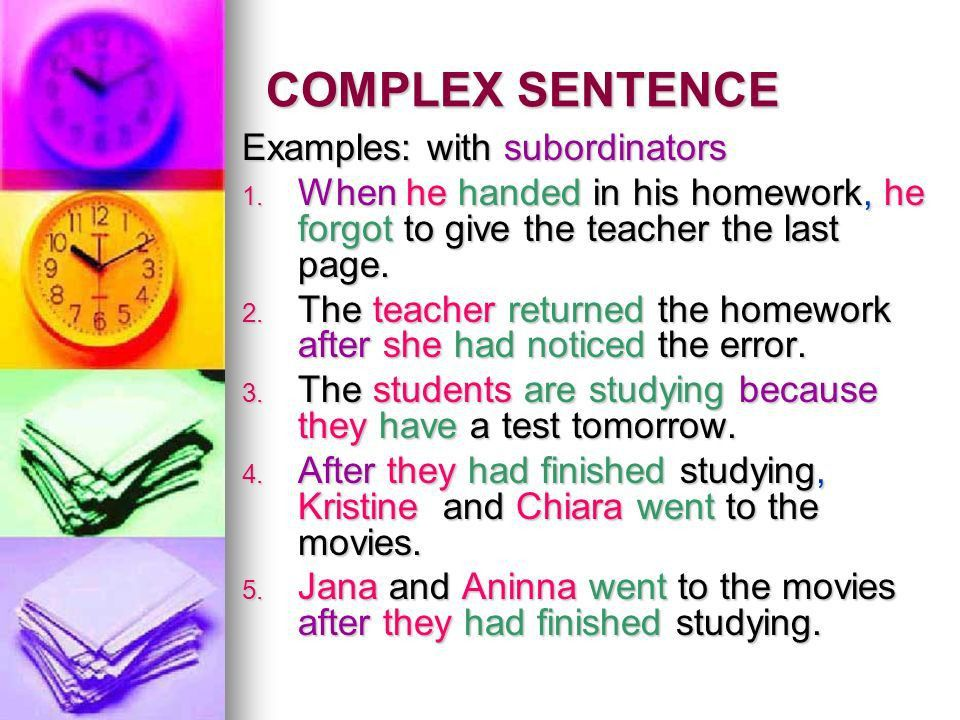 TYPES OF SENTENCES. - ppt video online download