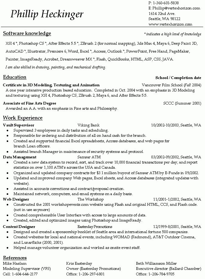 proper resume template resume cv cover letter correct format for ...