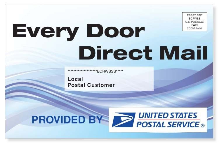Every Door Direct Mail Service | EDDM - SLB Printing
