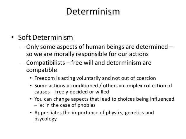Libertarianism, Free Will & Determinism