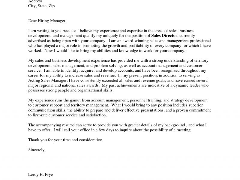 Impressive Cover Letter Dear 6 Hiring Manager Sample - CV Resume Ideas