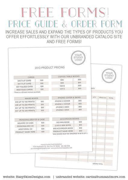 25+ best Order form ideas on Pinterest   Photoshop price ...