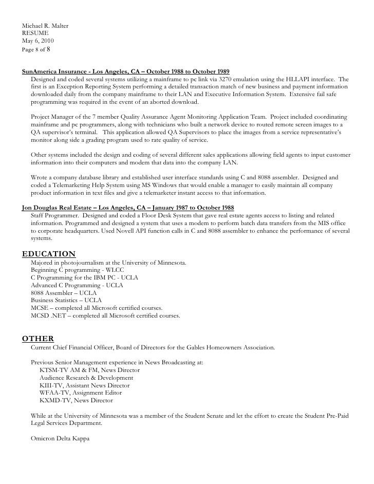 Download resume in MS Word format.doc