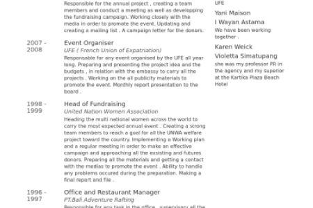 Education Organizing Committee Community Organizer Resume Example ...