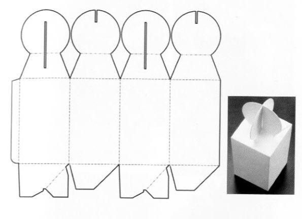 Special form box structure design | Corrugated and folding carton ...